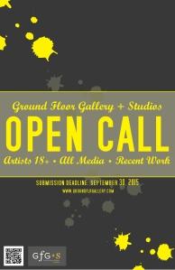 GfG Open Call Poster